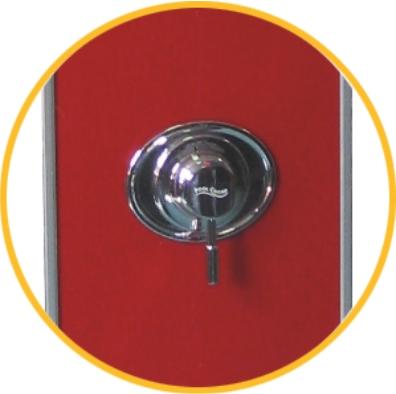 Art.Nr. 14371 PoolChamp Solardusche Tampico 35 Liter Einhandmischer