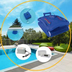Art.Nr.35000_Pool-Boden-Wand-Reinigungsroboter 230V