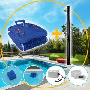 Pool-Boden-Wand-Reinigungsroboter 230V