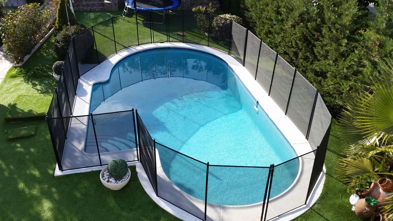 Pool-Sicherheitszaun